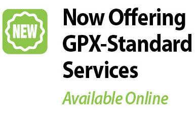 Now Offering GPX-Standard Services