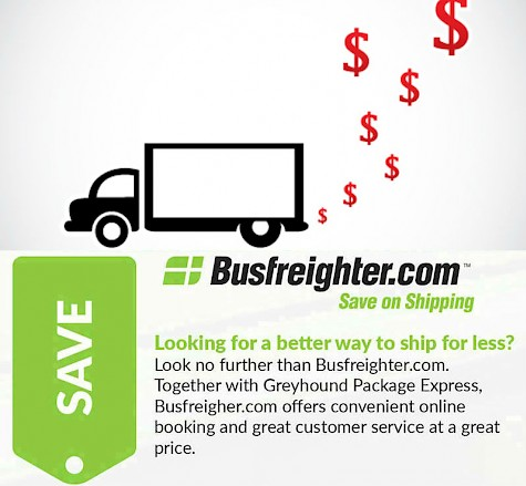 Greyhound Shipping Quote >> Gpx Standard Shipping Services Available On Busfreighter Com