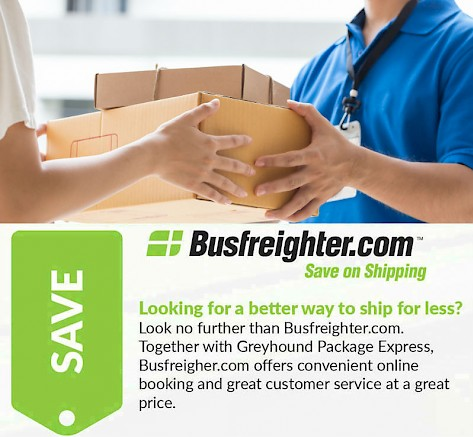 Greyhound Shipping Quote >> Details About Pick Up Delivery Services Busfreighter Com
