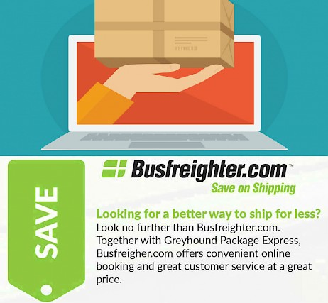Greyhound Shipping Quote >> Cost Convenience Of Discount Shipping Service Busfreighter Com